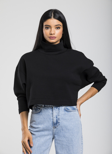 Take7 Sweatshirt Siyah